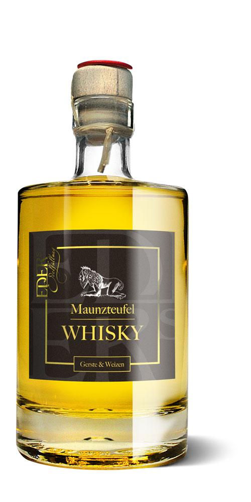Whisky aus Gerste und Weizen